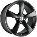AVUS AF10 Multiflex-Felge matt black polished